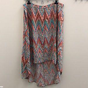 Dresses & Skirts - Asymmetrical Maxi Skirt